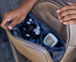 Batoh pro diabetiky na cestování. Myabetic