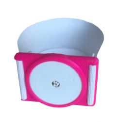Plastový držák pro senzor Freestyle Libre - růžový
