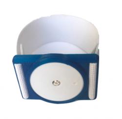 Plastový držák pro senzor Freestyle Libre - modrý