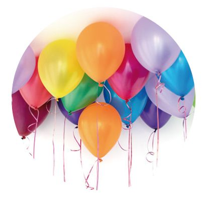 Nálepka na senzor Freestyle Libre - balónky