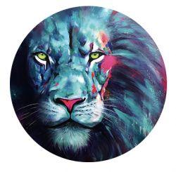 Nálepka na senzor Freestyle Libre - barevný lev