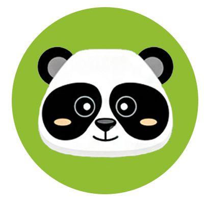 Nálepka na senzor Freestyle Libre - panda