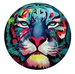 Nálepka na senzor Freestyle Libre - barevný tygr