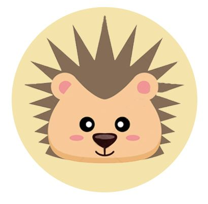 Nálepka na senzor Freestyle Libre - ježek
