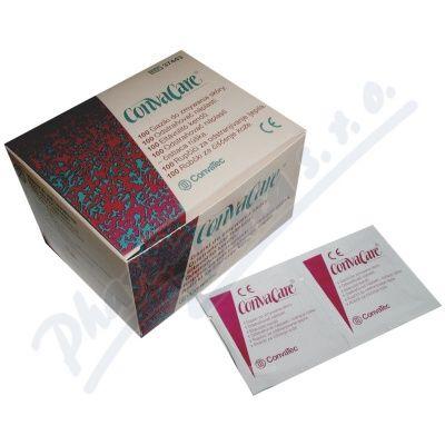 Odstraňovač náplastí Convacare - 100 roušek. Snadné odstraňování náplastí a stomických pomůcek.