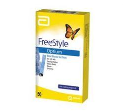 Testovací proužky FreeStyle Optium 50 ks