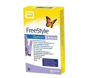 Testovací proužky FreeStyle Optium Beta-Ketone 10 ks