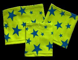 Elastický návlek na ruku - Hvězda - zelené pozadí