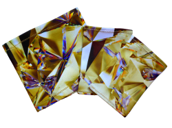 Elastický návlek na ruku - Zlatý krystal