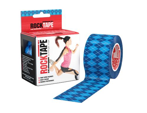 Kineziologický tejp RockTape - Romby modré