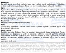 Lancety Accu - Chek Softclix - 200 ks Roche