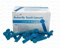 Lancety Genteel Butterfly Touch - 100 ks