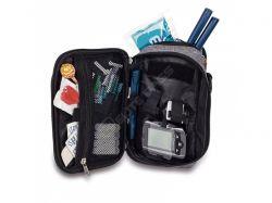 Multifunkční taška/batoh pro diabetiky. Elegantní taštička na přenos diabetického příslušenství.