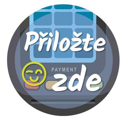Nálepka na senzor Freestyle Libre - Přiložte zde