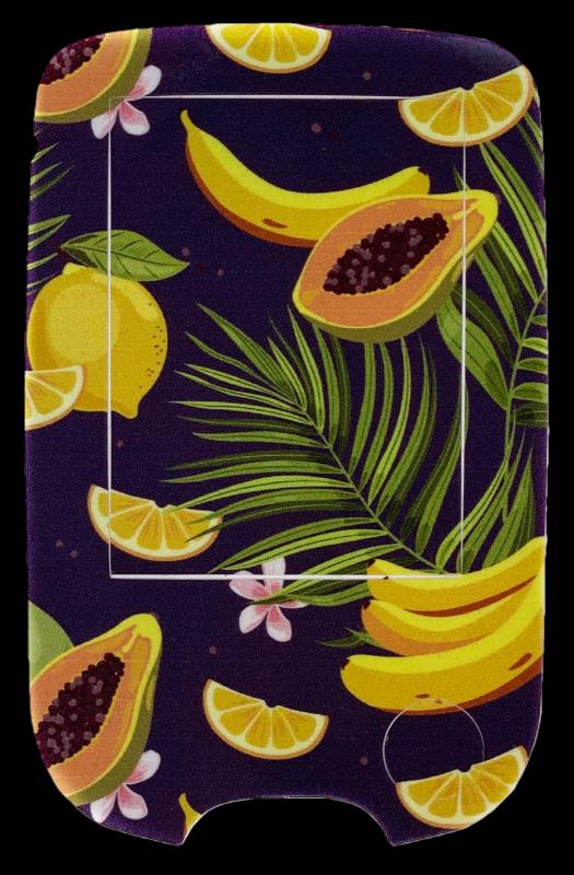 Samolepka na čtečku Freestyle Libre - Exotické ovoce 1