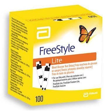Testovací proužky FreeStyle Lite 100 ks Abbott