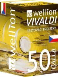 Testovací proužky Wellion® CALLA Vivaldi - bal 50 ks