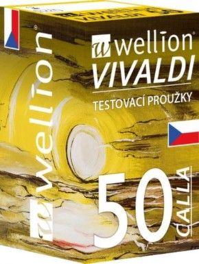 Testovací proužky Wellion Calla 50ks Medrust