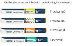 Timesulin FlexTouch - uzávěr pro jednorázové inzulínové pero