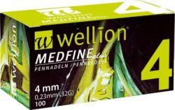 Inzulínové jehly Wellion MedFine 32GX4mm/bal.100ks