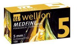 Inzulínové jehly Wellion MedFine 31GX5mm/bal.100ks