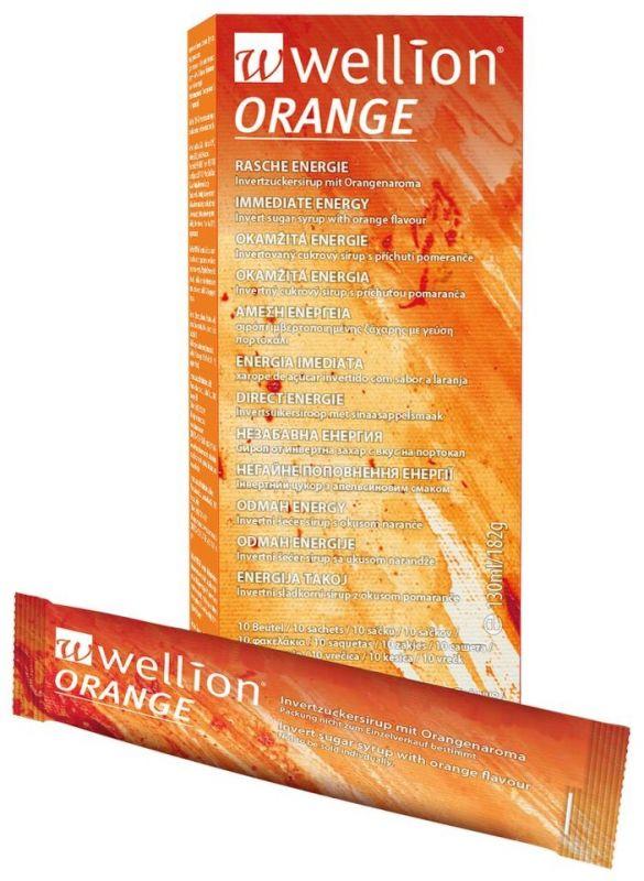 Wellion® tekutý cukr pomerančový Medrust