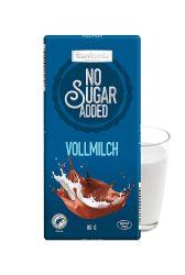 Frankonia čokoláda no sugar added Vollmilch 80g