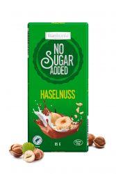 Frankonia čokoláda no sugar added Haselnuss 85g